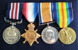PIC_Peter White medals